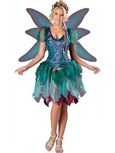WOMENS ENCHANTED FAIERIE COSTUME