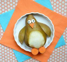 cutefoodpenguinpear by kirstenreese, via Flickr