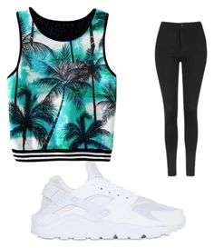 """Untitled #24"" by skylarblanding on Polyvore featuring Topshop and NIKE"