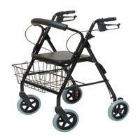 Graham Field 8 Inches Four-Wheel Rollator with Curved Back, Black # RJ4805k - 1 Ea by Graham Field. $86.53. Graham Field walkabout 8 inches four-wheel contour deluxe rollator with curved back, black, #RJ4805K - 1 ea.. Graham Field walkabout 8 inches four-wheel contour deluxe rollator with curved back, black, #RJ4805K - 1 ea.