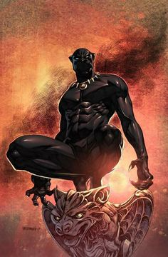 You are watching the movie Black Panther on Putlocker HD. King T'Challa returns home from America to the reclusive, technologically advanced African nation of Wakanda to serve as his country's new leader. Marvel Comics Art, Marvel Heroes, Marvel Avengers, Black Panther Comic, Black Panther King, Comic Book Characters, Marvel Characters, Panther Pictures, Jaguar