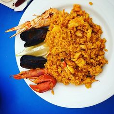 More details: Real paella #nicefood #spaintravel