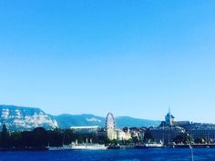#London is always a good idea but you can find #sublime_beauty in #Geneva too.