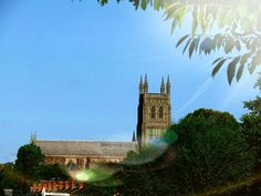 Worcester's historical Cathedral