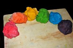 Hacer plastilina/make play dough