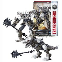 Year 2016 Transformer The Last Knight Series Voyager Class 7 Inch Tall Figure - Grimlock with Spiked Mace (Beast Mode: T-Rex) * Learn more by visiting the image link. (This is an affiliate link) Transformers Collection, Transformers Action Figures, Transformers Movie, Toy Bulldog, Deadpool And Spiderman, Batman Batmobile, Last Knights, Prehistoric Creatures, Thundercats