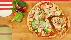 Barbecued Tuna Pizzas - Recipes - Best Recipes Ever - Made with simple pantry ingredients, these pizzas get a smoky flavour from the grill. Serve them with a salad and save the extras for a late-night snack.