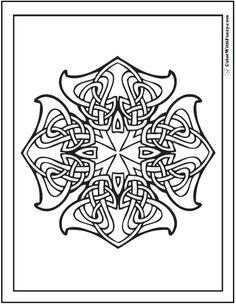 ornate-celtic-cross-designs.png (590×762)