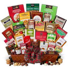 Christmas Snack Gift Basket Jumbo