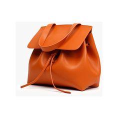 Dark Green Leather Bucket Crossbody and Shoulder Bag (6.570 RUB) via Polyvore featuring bags, handbags, shoulder bags, genuine leather shoulder bag, crossbody purse, orange leather handbag, bucket shoulder bag и leather crossbody handbags