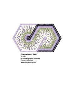 Lavender Market 2: Triangle Frenzy Swirl - PTN1119