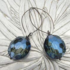 German Crystal Earrings from Elysium Originals  www.elysiumoriginals.com