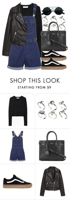 """#14140"" by vany-alvarado ❤ liked on Polyvore featuring Organic by John Patrick, ASOS, Topshop, Yves Saint Laurent and H&M"