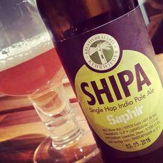 SHIPA Saphir #kreativbrauerei #hamburg #indiapaleale #singlehop #ipa #saphir #craftbeer #instabeer #beerporn #ilovebeer #kiel