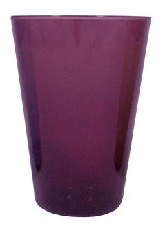 Eau Minerale Glass in Amethyst - Canvas - $7.50