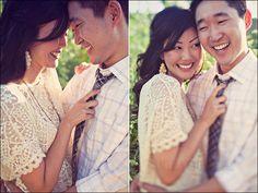 amelia lyon engagement - love the lacy dress