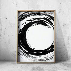 Impresiones blanco y negro impresiones arte abstracto