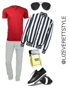 """""""He's Got Swag"""" by lizeverettstyle on Polyvore featuring Closed, Ethan Williams, Andrea Pompilio, Bally, Moschino, men's fashion and menswear"""