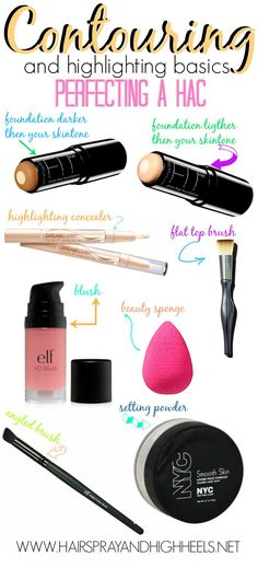 How to contour - I love how these products are actually middle class friendly, instead of some stuck up MAC or Dior or whatever #makeup