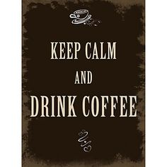 Xavax Dekoschild Drink Coffee, 26 x 35 cm im QUELLE Online Shop