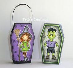 Bettys-creations: Anleitung Halloween-Särge