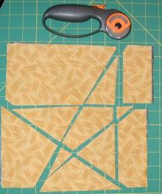 Stack and Slash Star quilt blocks - fast and easy way to make stars