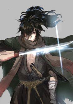Dororo Hyakkimaru,so awesome. Anime Echii, Kawaii Anime, Anime Guys, Anime Art, Manhwa, Tokyo Ghoul, Oriental, Guy Pictures, Manga Comics