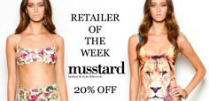 Our latest VIP offer of the week...20% off Musstard!