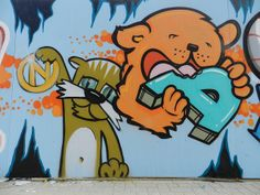 graffiti project by JoséDay, via Flickr