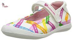 Agatha Ruiz de la Prada Plan, Babies fille, Blanc (A Blanco Y Estampado Post It Mat), 31 EU - Chaussures agatha ruiz de la prada (*Partner-Link)