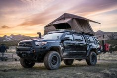 Toyota Tacoma with Rooftop Tent