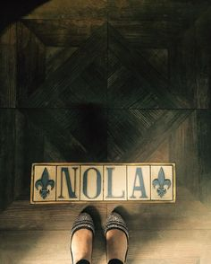 """""""There are a lot of places that I like but I like New Orleans better"""" #BobDylan #Quotes #NOLA #NewOrleans #Louisiana #mydubai #weekendvibes #soul #jazz #music #frenchquarter #bourbonstreet #aboutlastnight #ihavethisthingwithfloors #fromwhereistand #fwas #tileaddiction #layasmeenshappyfeet #lookdown #travel #wanderlust by layasmeen"""