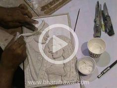 Mural Art Video Tutorials - by Muralguru Bharat Rawal Polymer Clay Dolls, Polymer Clay Crafts, Mural Painting, Mural Art, Plaster Art, Plaster Crafts, Clay Wall Art, Canvas Painting Tutorials, Clay Art Projects