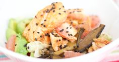 Hämmentäjä: Perfect Japanese salmon donburi. Täydellinen Japanilainen lohidonburi