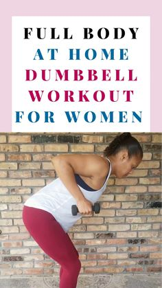 Strength Training Women, Strength Workout, Strength Training Routines, Dumbbell Workout At Home, Dumbbell Workout For Beginners, Beginner Full Body Workout, Weight Training For Beginners, Weights Workout For Women, All Body Workout