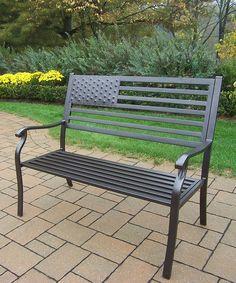 Brown American Pride Bench