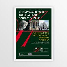 Print advertising for MIAMi Manifestazione Internazionale antiquari a milano #art