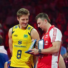 Murilo Endres and Krzysztof Ignaczak Fot. Mariusz Pałczyński / http://www.facebook.com/MariuszPalczynskiPhotography