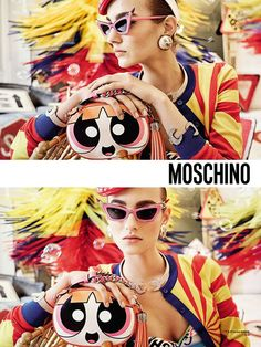 Moschino SS16 Campaign