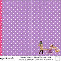 Enredados (Rapunzel): tarjetería, imágenes y fondos para imprimir gratis.