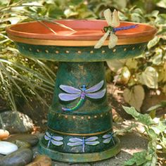Clay Pot Lighthouse With Solar Powered Light K Goad