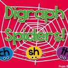 $  Digraph Spiders  IWB Smartboard Games