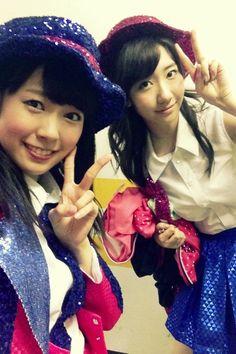 Watanabe Miyuki, Kashiwagi Yuki #AKB48