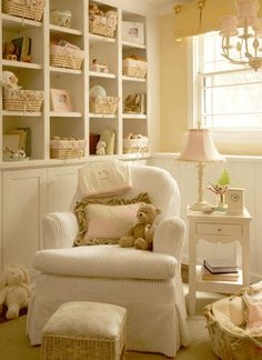 yellow & white nursery