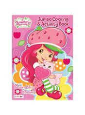 Strawberry Shortcake Coloring Activity Book Party City Strawberry Shortcake Color Activities Coloring Books