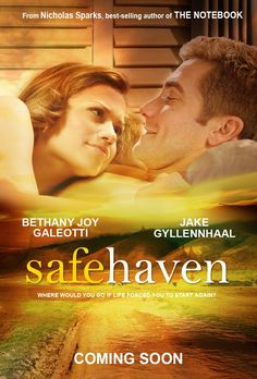 Two of my favorite things in one. Nicholas Sparks movie of my favorite book + One Tree Hill Star Bethany Joy Galeotti. <3