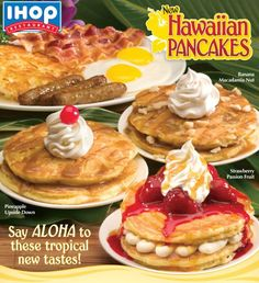 International House of Pancakes Copycat Recipes: IHOP Hawaiian Flavored Pancakes