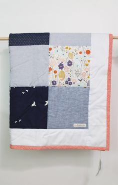 PH Run Rabbit Run - Cot Quilt - Morning Song