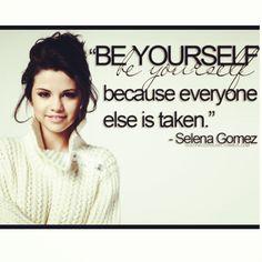 Selena Gomez quote
