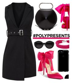 """""""#PolyPresents: Wish List"""" by deeyanago ❤ liked on Polyvore featuring Christian Louboutin, 3.1 Phillip Lim, Swarovski, Carla Zampatti, Speck, contestentry and polyPresents"""